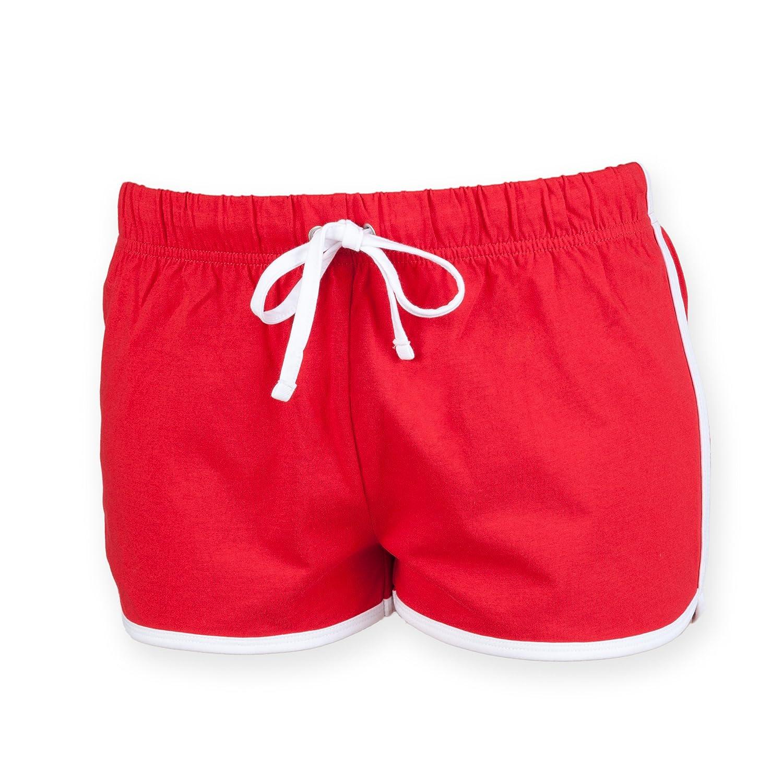 Skinni Fit Womens Retro Shorts