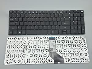 New keyboard for Acer Aspire E5-573 E5-573G E5-573T E5-573TG Series US layout P/N: AEZRTQ00210 NKI151700K Black