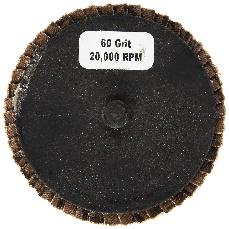 5-Pack Shark 73757    3-Inch Aluminum Rolock Mini Flap Disc Grit-40