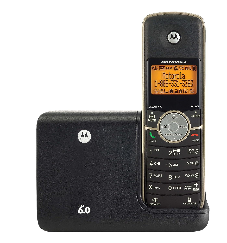 motorola l513bt dect 6 0 3 handset cordless phone with digital rh amazon ca Motorola Radios User Manual