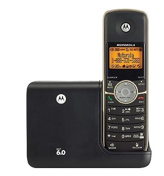 motorola l511bt dect 6 cordless phone with digital answering system rh amazon ca