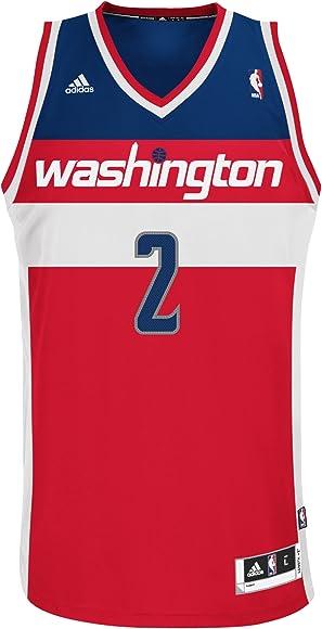 new concept b3ed6 ca121 Amazon.com : NBA Washington Wizards White Swingman Jersey ...
