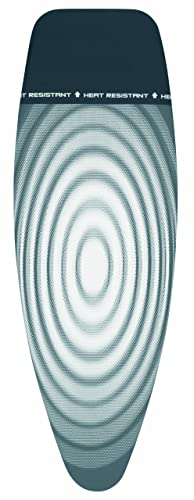 Brabantia Ironing Board Cover with Parking Zone, Size D, Extra Large - Titan Oval