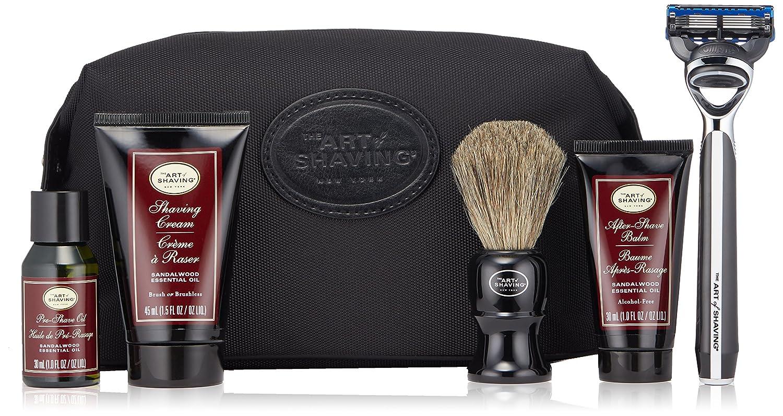 The Art of Shaving with Morris Park Razor, Sandalwood
