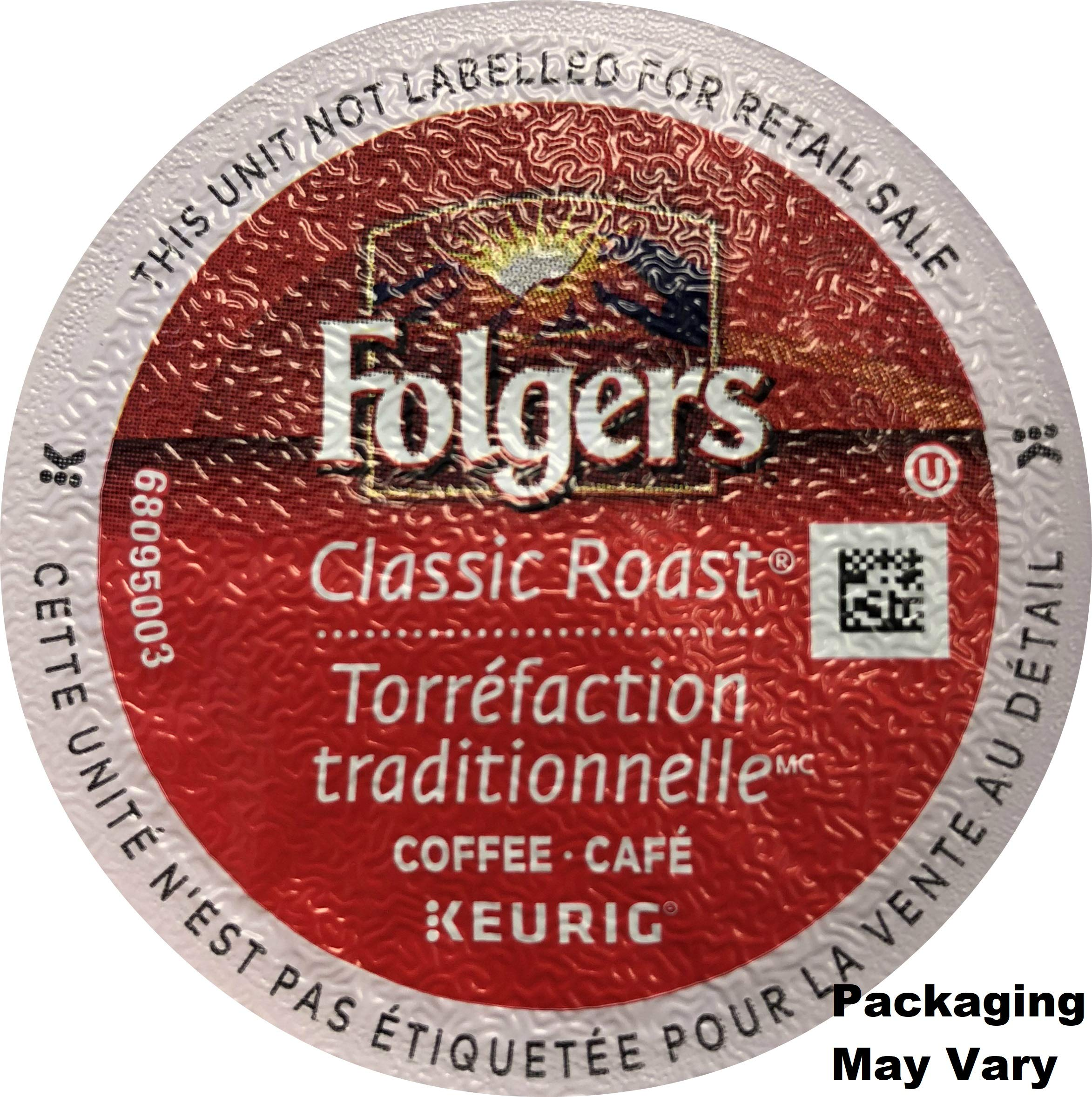 Folgers Classic Roast Coffee K-Cups - 120 Count (Packaging May Vary)