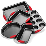 Elite Bakeware Ultra NonStick Baking Pans Set of 5 - Premium Bakeware Set