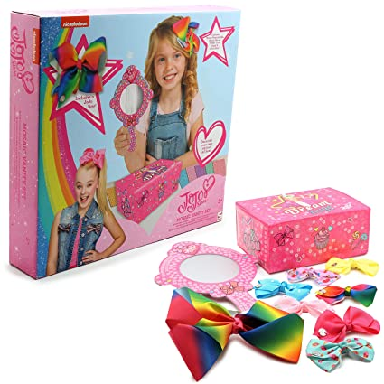 b2bc97563 JoJo Siwa Hair Clip Bows Set of 7 One For Everyday Beautiful Hair  Accessories Best Hair