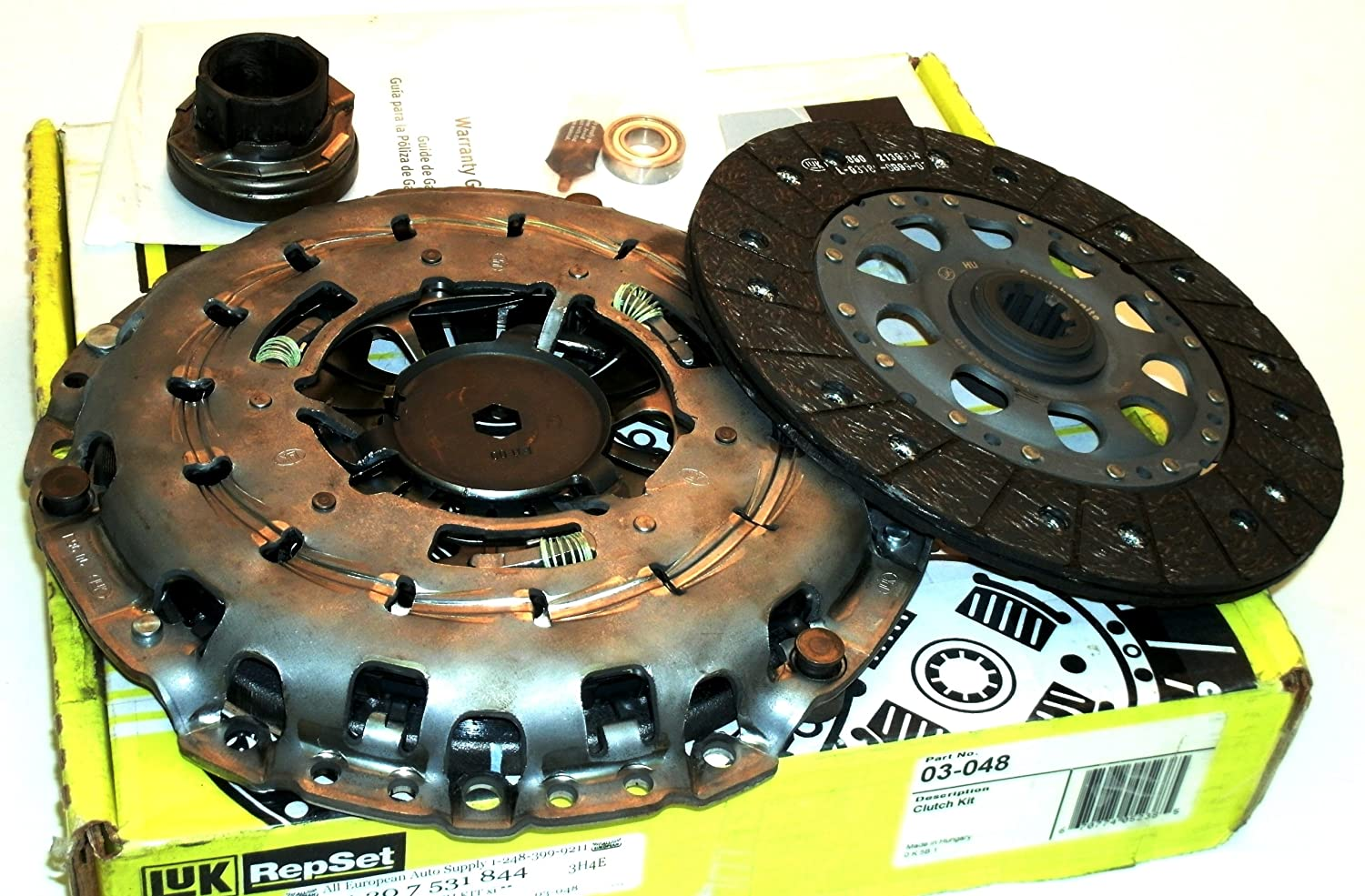 Amazon.com: OEM BMW (E46) CLUTCH KIT 330xi (01-03) - LUK 03-048 21207531844: Automotive