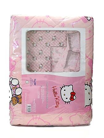 Copriletto Trapuntato Hello Kitty.Hello Kitty Copriletto Trapuntato Amazon It Casa E Cucina