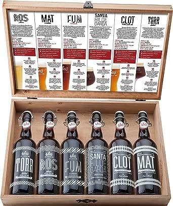 ILDAs 1 Selección cervezas artesanas 75 cl, Maletín Degustación 6 estilos- 6 botellas X 75 cl: Amazon.es: Alimentación y bebidas