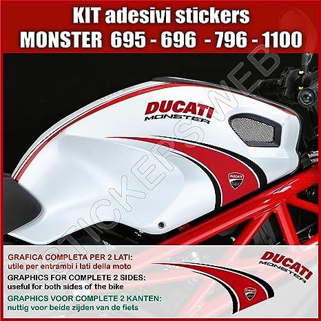 Amazon Fr Pimastickerslab Ducati Monster 695 795 796 1100