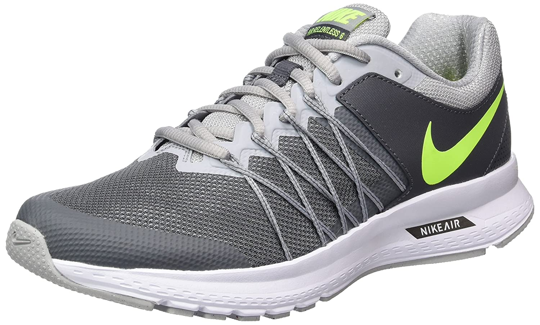 Nike Herren 843836-009 Turnschuhe  41 EU|Grau (Dark Grey / Volt / Wolf Grey / White)