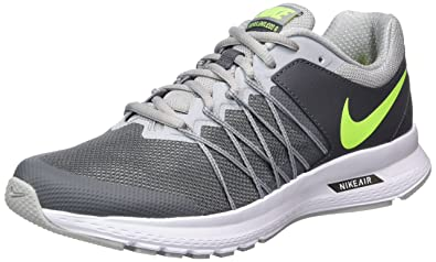 c7ff2070bb6 Image Unavailable. Image not available for. Color  NIKE Men s Air Relentless  6 Dark Grey Volt Wolf Grey White Running Shoe ...