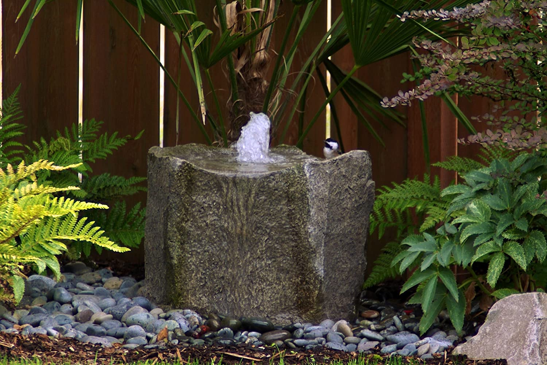 Amazon.com : LiquidArt Klamath Basin Fountain Kit : Free Standing Garden  Fountains : Garden U0026 Outdoor