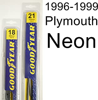 """product image for Plymouth Neon (1996-1999) Wiper Blade Kit - Set Includes 21"""" (Driver Side), 18"""" (Passenger Side) (2 Blades Total)"""