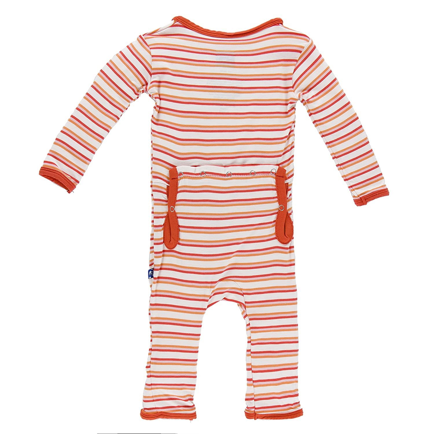 Kickee Pants Baby-Girls Infant Ruffle Stripe) de Infant impresión ...