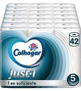 Andrex Classic Clean Rollos de papel higiénico: Amazon.es: Salud y ...