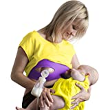 Pump Strap Hands-Free Pumping Bra –Adjustable Breastpump Bra