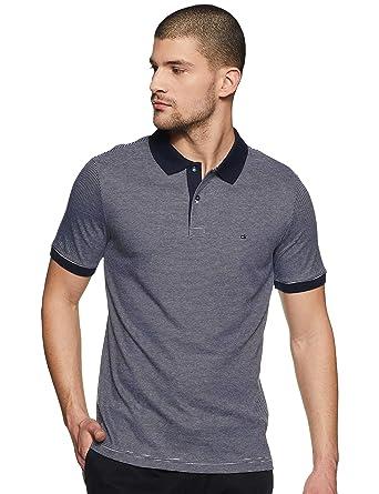 Calvin Klein - Polo - para Hombre Righe S: Amazon.es: Ropa y ...
