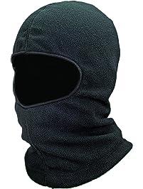 Ergodyne N-Ferno 6821 Winter Ski Mask Balaclava, Thermal Fleece, Black