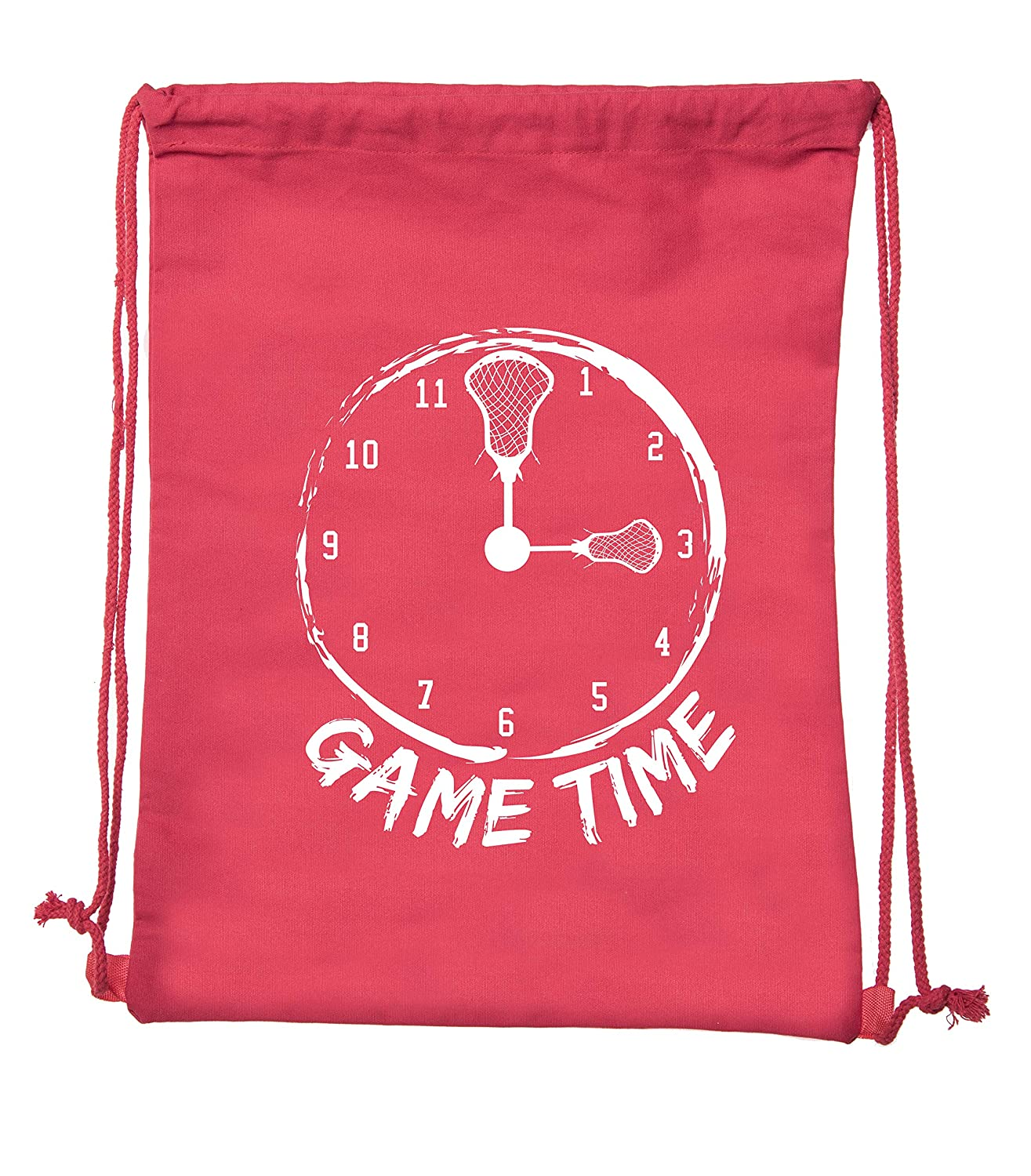 Party Favor Lacrosse bags Cotton drawstring Backpacks for Parties and promotional events!