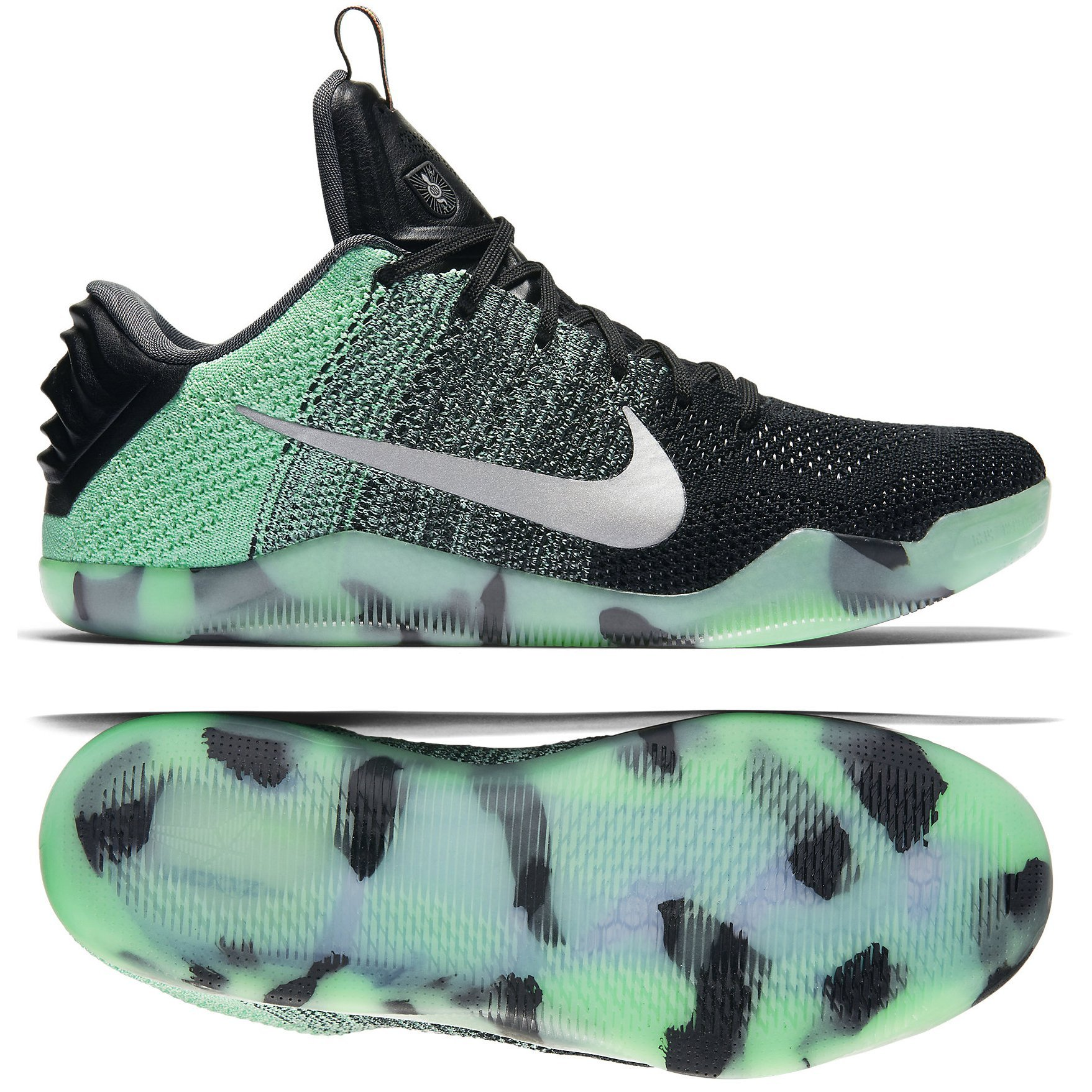 super popular 419f9 0f1d6 Galleon - NIKE Kobe XI Elite Low All Star 11 Men Basketball Shoes New Green  Glow Black