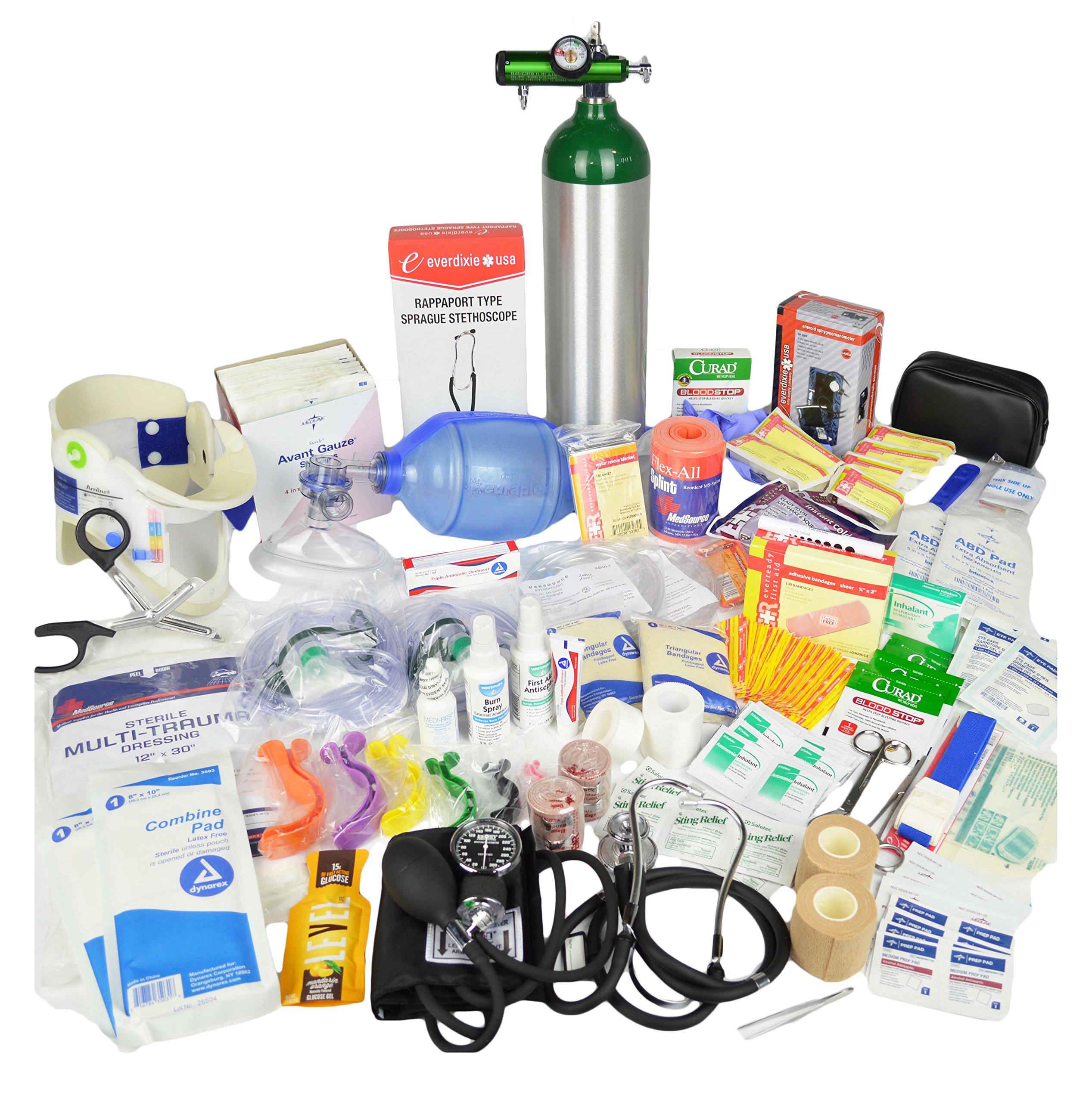 Lightning X Stocked Medic First Aid Trauma Fill Kit w/ Emergency Medical Supplies D by Lightning X Products