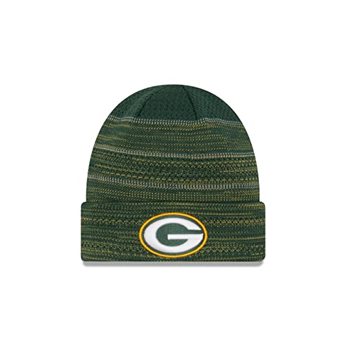 a00266e595d ... usa green bay packers new era 2017 nfl sideline cold weather td knit hat  054ce 680b4