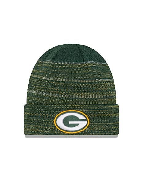 a887f35406a Image Unavailable. Image not available for. Color  Green Bay Packers New Era  2017 NFL Sideline  quot Cold Weather TD quot  Knit Hat