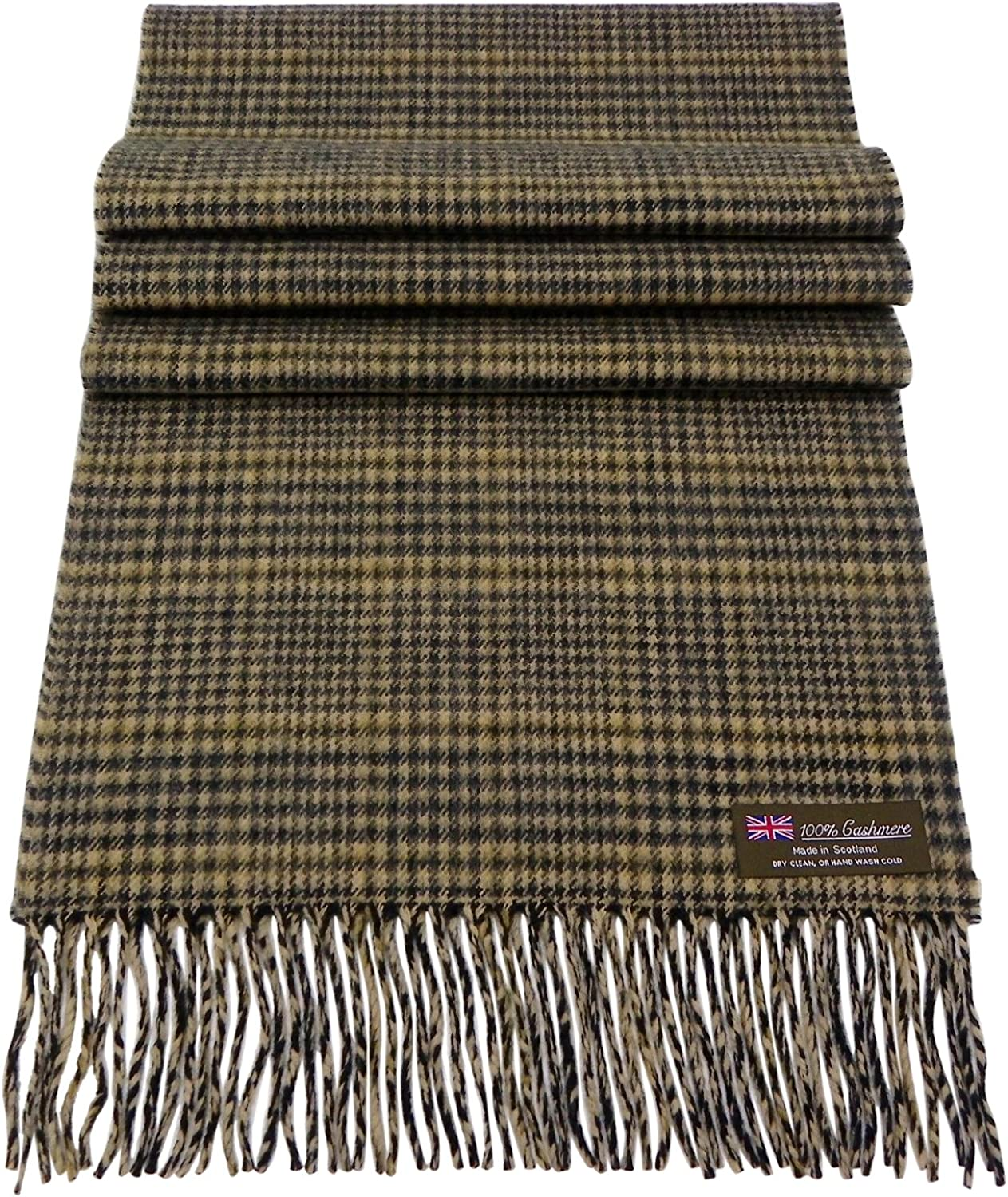 Rosemarie Collections 100/% Cashmere Winter Scarf Made in Scotland