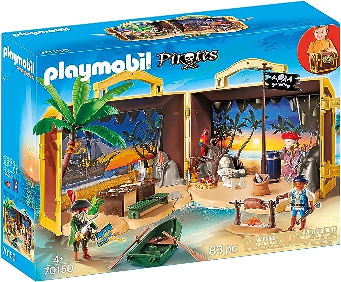Isla Pirata Maletín 70150: Amazon.es: Juguetes y juegos