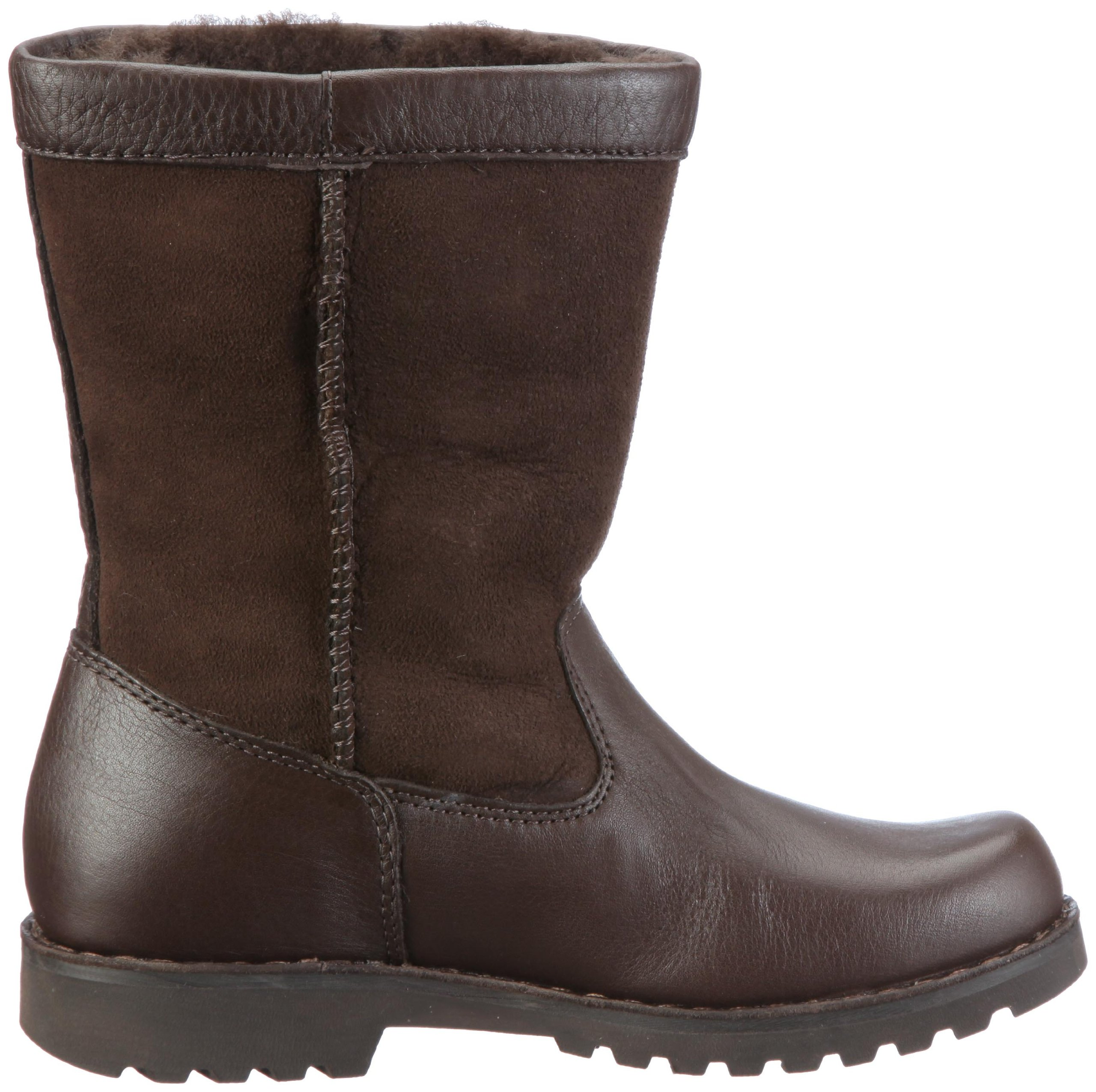 UGG Australia Children's Riverton Suede Boots,Chocolate/Chocolate,5 Child US by UGG (Image #6)