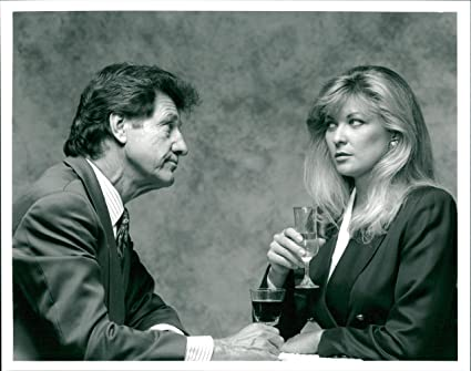 Vintage photo of Norman Bowler with Claire King in Emmerdale