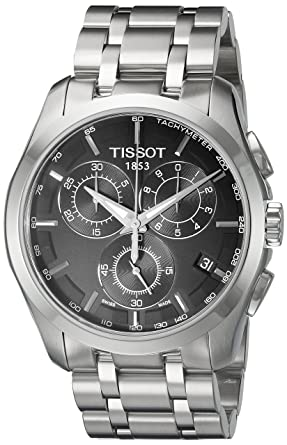 men watches watch tosset s black t chronograph dial tissot prs