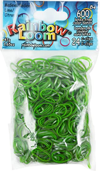 Rainbow Loom Medieval Red Rubber Bands Refill Pack 600 ct