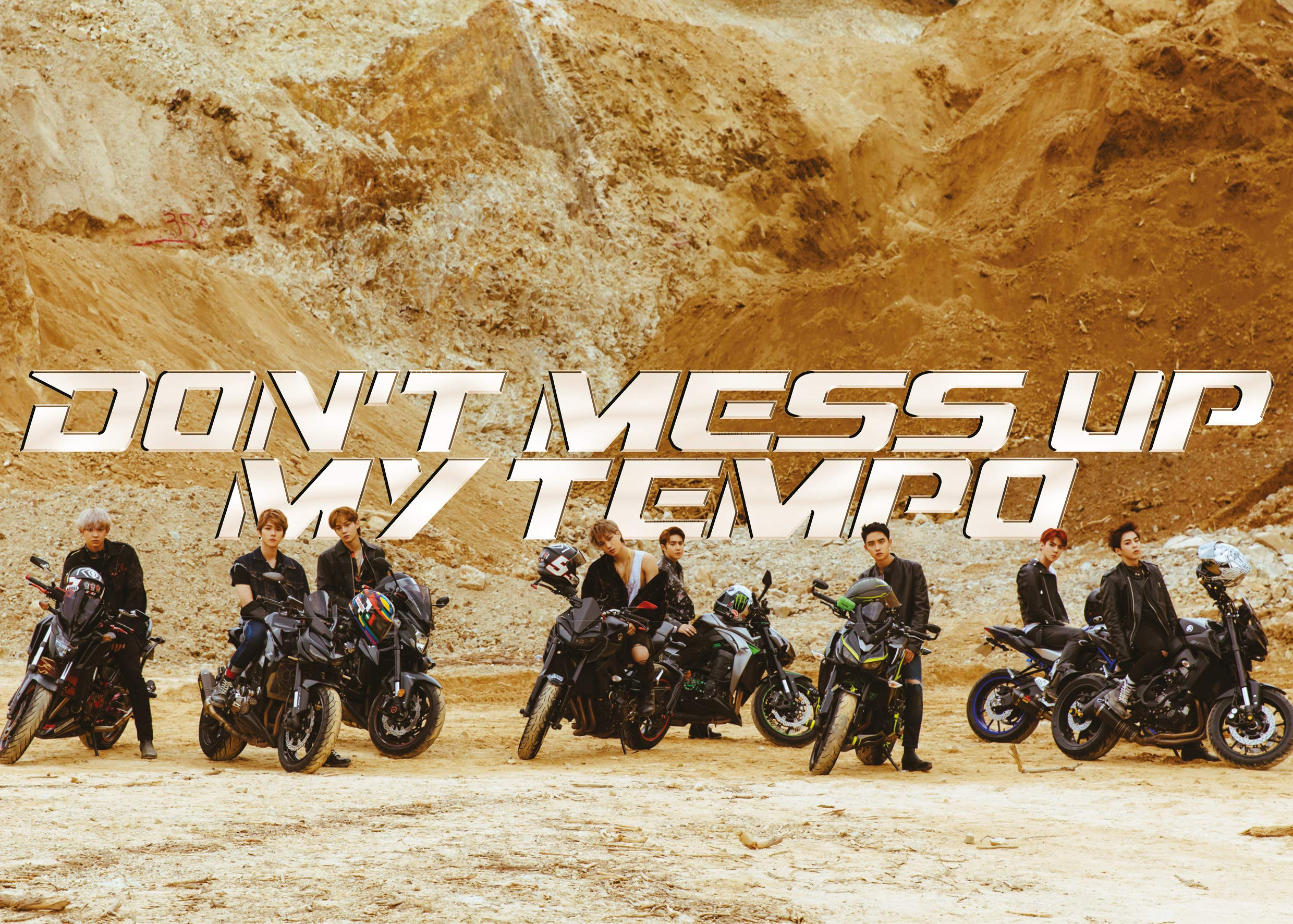 CD : Exo - Exo The 5th Album 'don't Mess Up My Tempo' (moderato Ver.) (Photos, Poster)