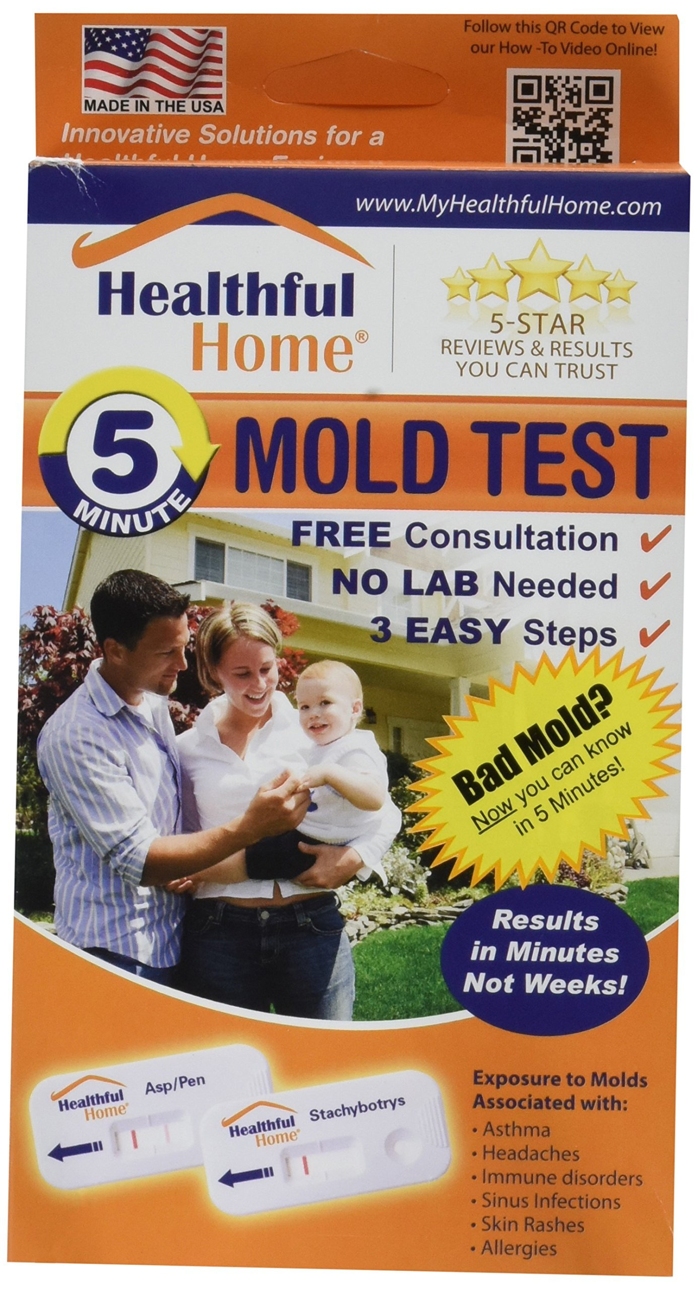 Healthful Home 5-Minute Mold Test by Healthful Home