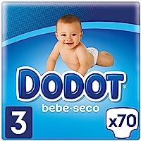 Dodot Bebé-Seco Pañales Talla 3, 70 Pañales, el