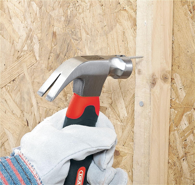 Draper Redline 67664 450 G 16 oz martillo de carpintero con eje de madera