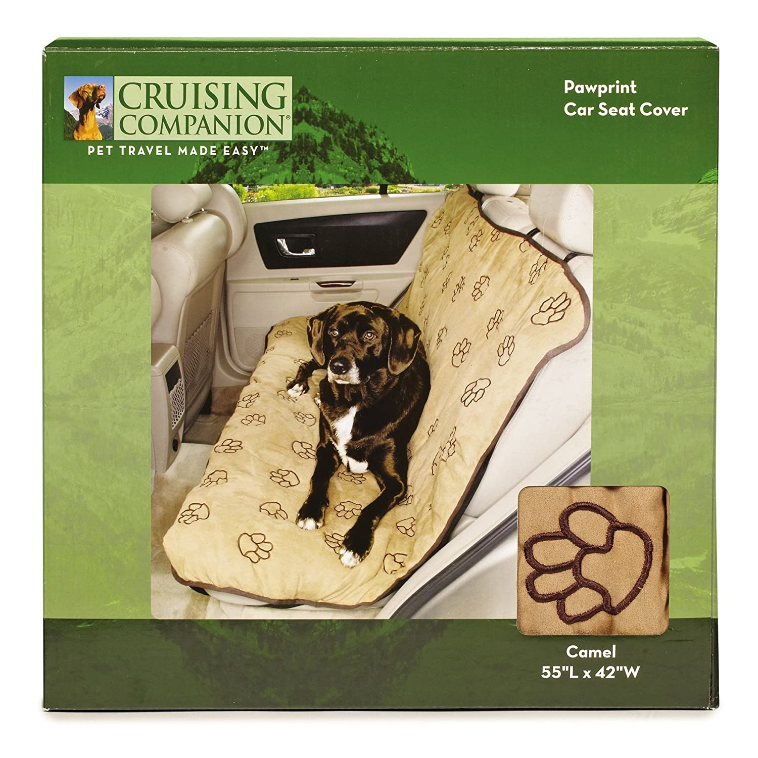 Amazon Cruising Companion Pawprint Car Seat Covers