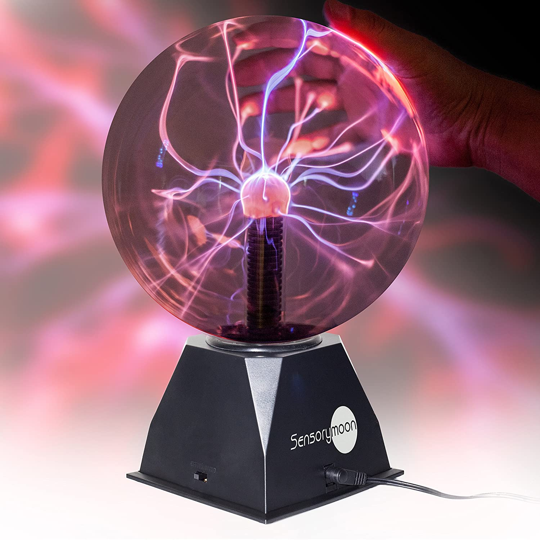 Amazon Com Sensorymoon True 8 Plasma Ball Lamp Large Electric