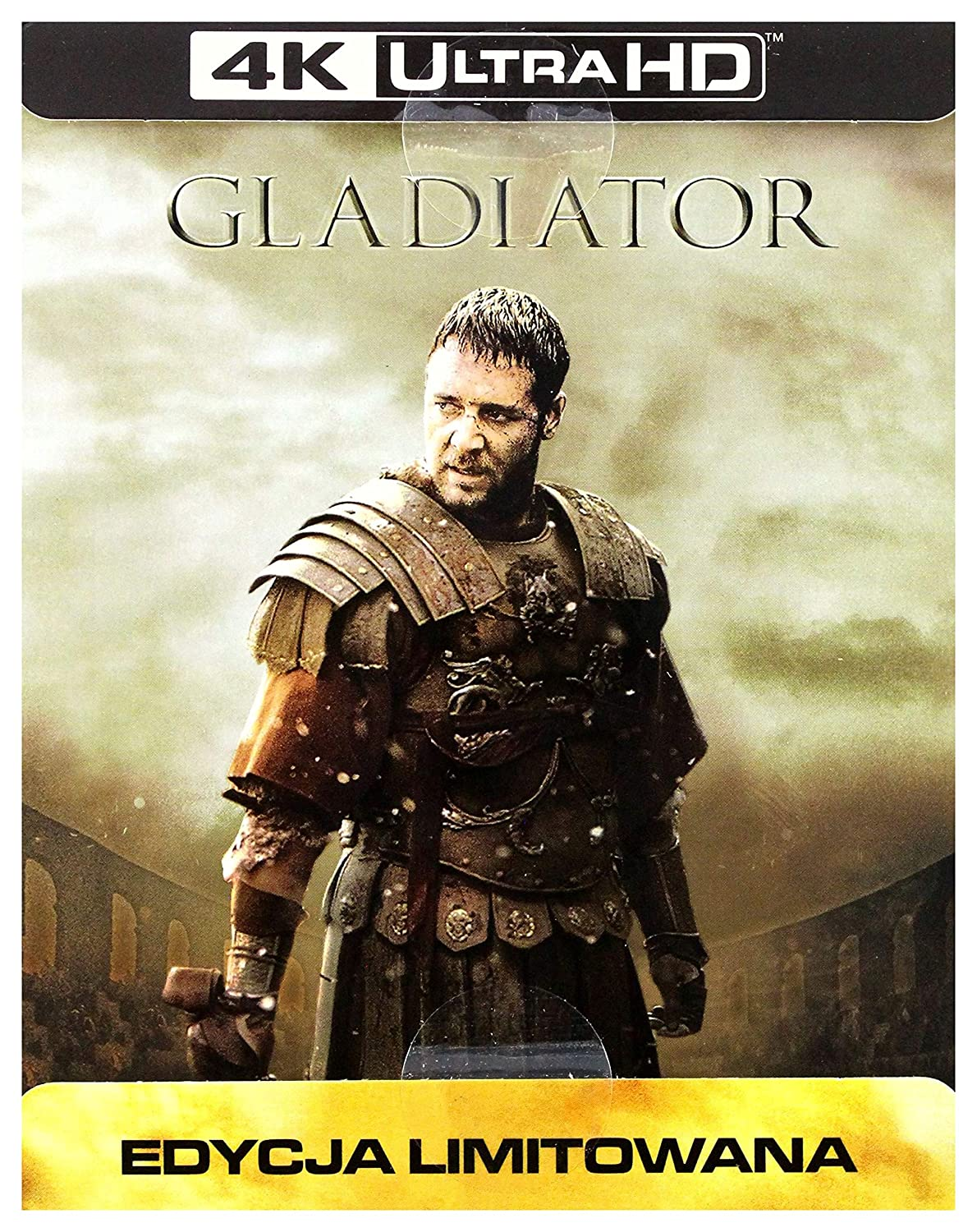 Amazon.com: Gladiator Steelbook [Blu-Ray 4K]+[Blu-Ray ...