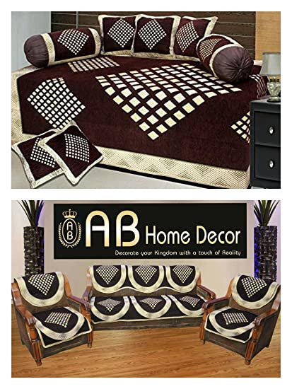 Incroyable DIWAN SET AND SOFA COVER COMBO By Ab Home Decor