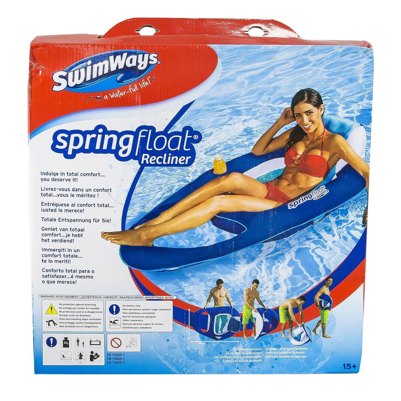 Swimways - Colchoneta premium, tumbona reclinada (Bizak 61921308 ...