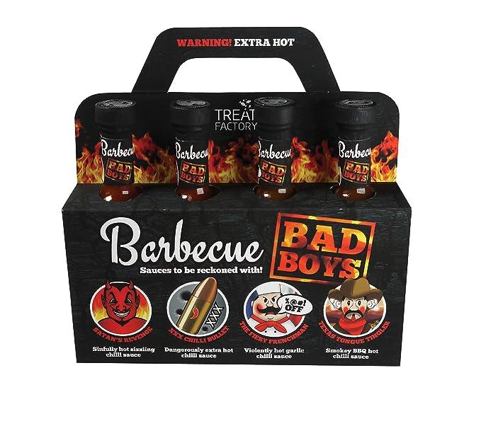 Selección de salsas BBQ Bad Boys