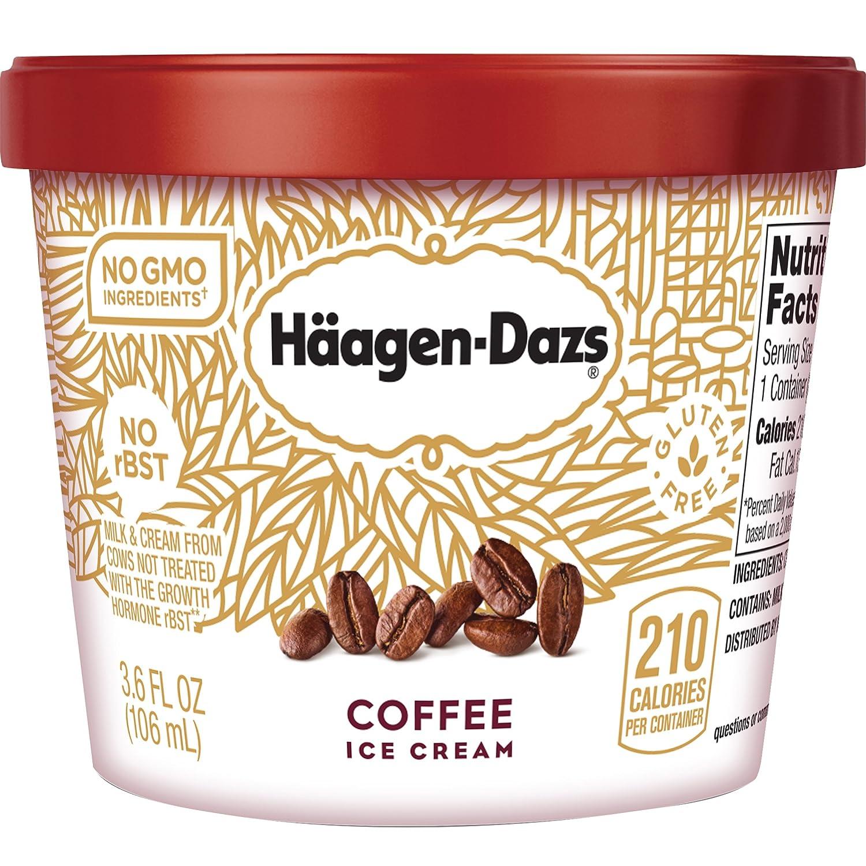 Haagen Dazs, Coffee Ice Cream, 3 6 Oz  Cup (12 Count)