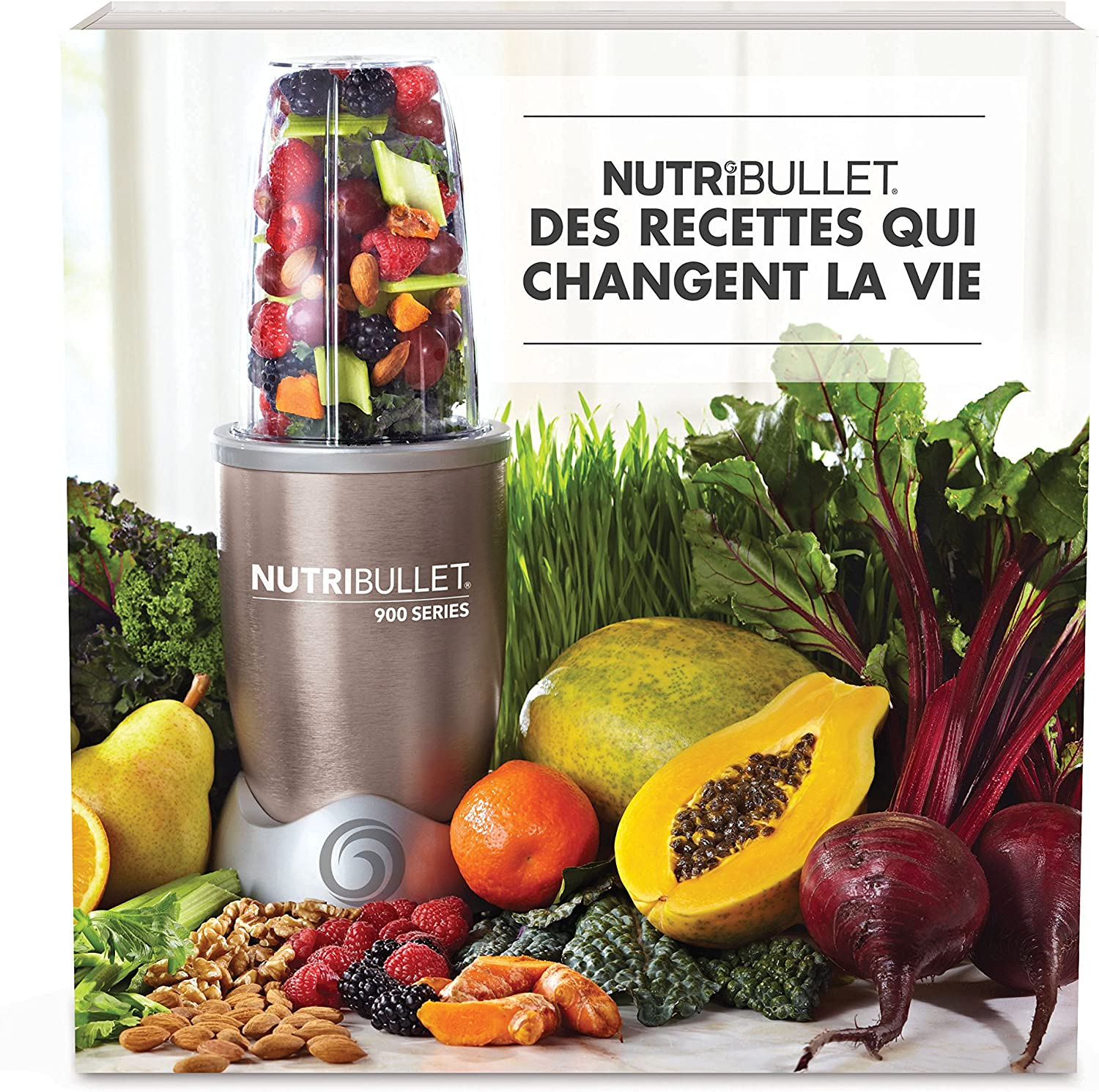 NutriBullet 900 W - Extractor de zumo - [importado, instrucciones no en español]: Amazon.es