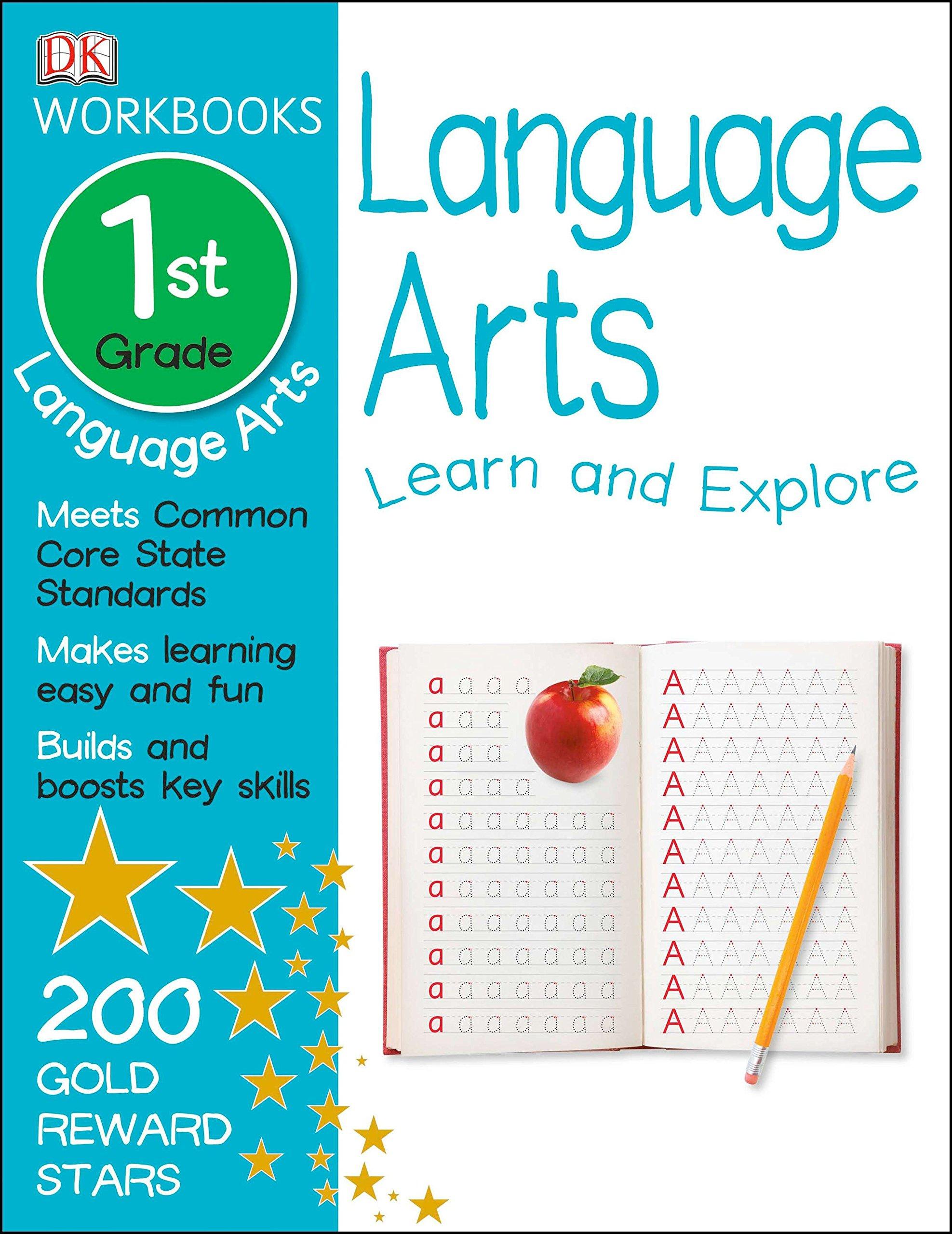 DK Workbooks: Language Arts, First Grade: DK: 9781465417381: Amazon ...