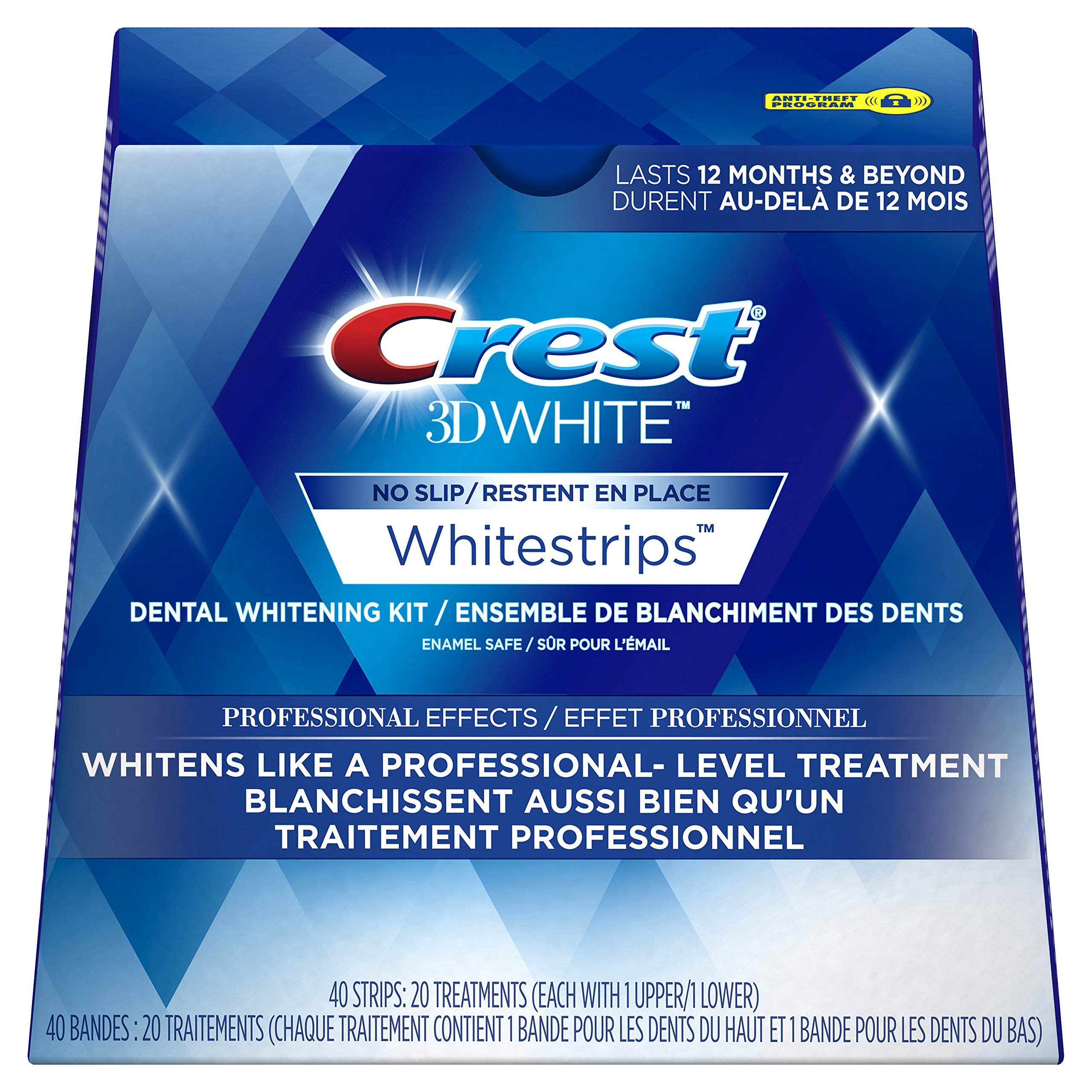 Crest 3d White Whitestrips Professional Effects Treatments, 20 Count by Crest (Image #1)
