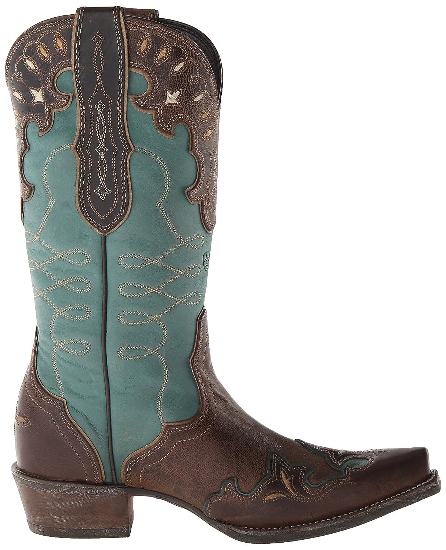Ariat Women's B00NUITALY Zealous Western Cowboy Boot B00NUITALY Women's 10 B(M) US|Barnwood 7fb704